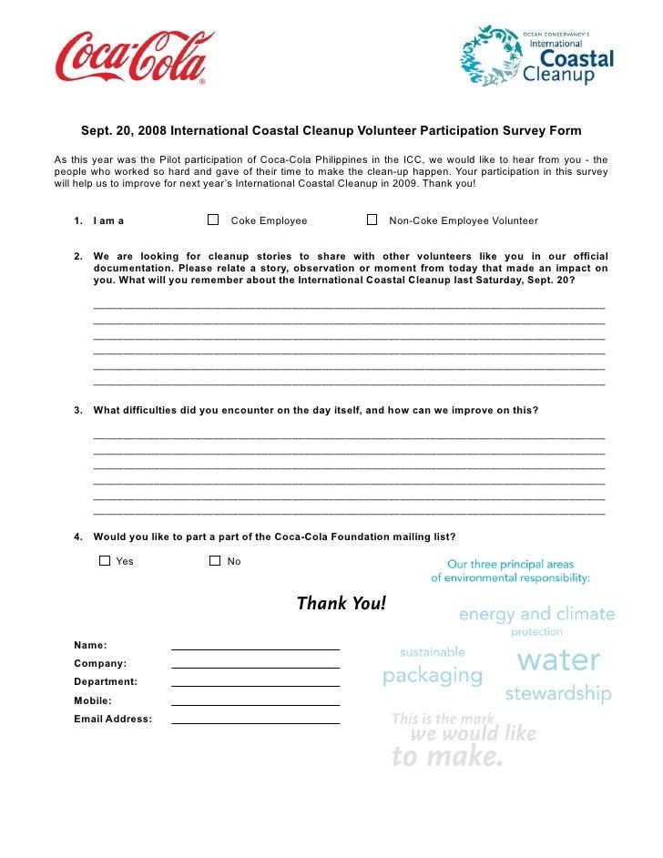 Icc 2008 Survey Form1