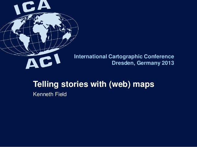 Telling stories with (web) maps