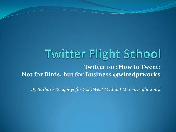 Leveraging Twitter and LinkedIn Business Workshop