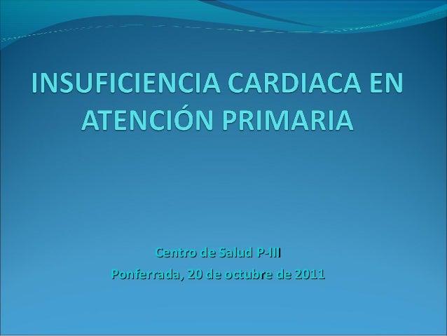 Icc en atencion primaria