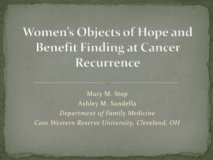 Mary M. Step             Ashley M. Sandella       Department of Family MedicineCase Western Reserve University, Cleveland,...