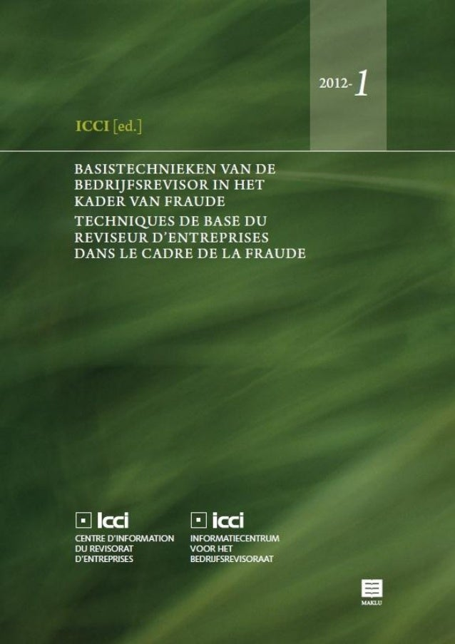 Maklu-ICCI 2012 Cover
