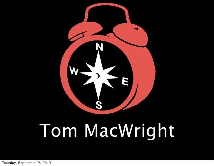 Tom MacWright Tuesday, September 28, 2010