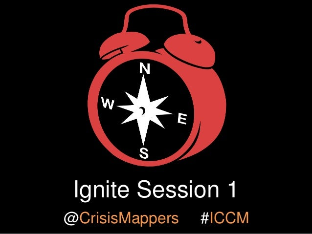 ICCM 2013 Ignite Session 1