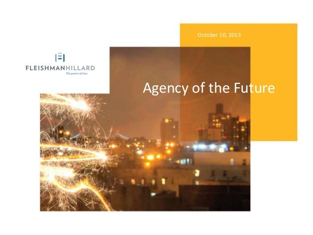 Agency of The Future by Dave Senay, ICCO Summit 2013