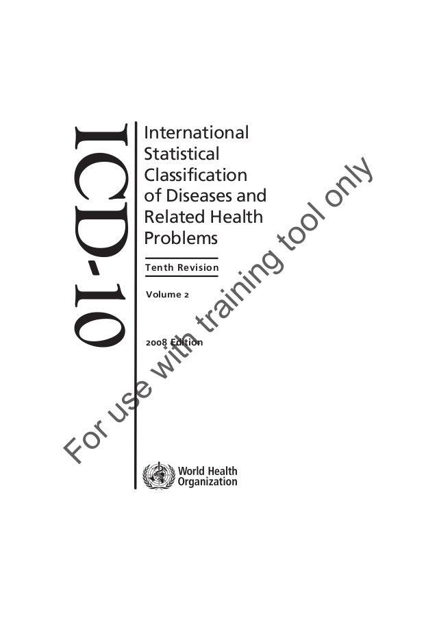 Icd 10 volume-2