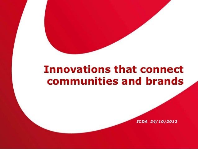 Innovations that connect communities of publishers and brands