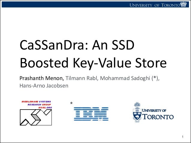 CaSSanDra: An SSD Boosted Key-Value Store