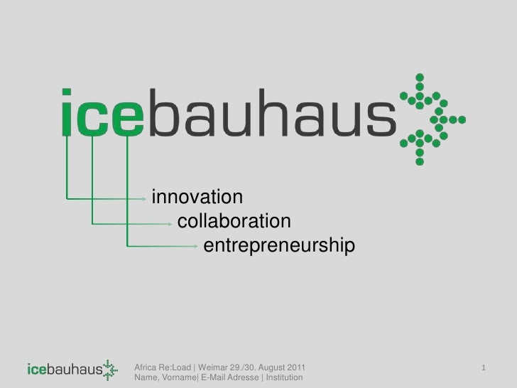 1<br />innovation<br />collaboration<br />entrepreneurship<br />