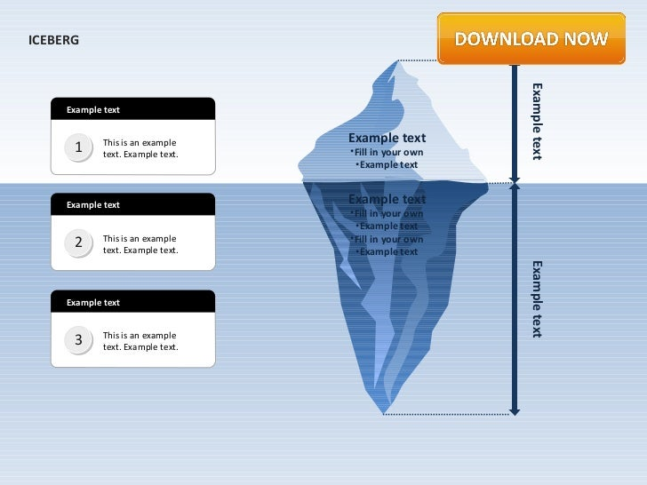 ICEBERG                                                       Example text     Example text                               ...