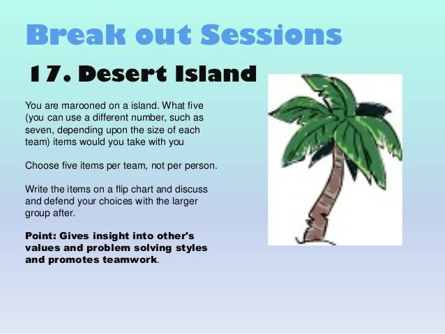 Best Desert Island Questions
