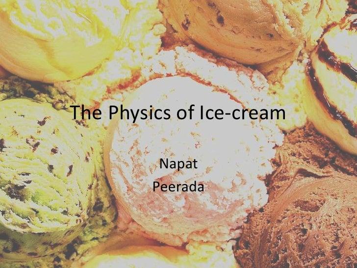 Ice Cream 20091205 (student preso)