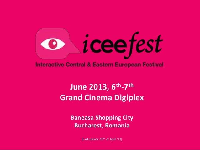 ICEEfest 2013