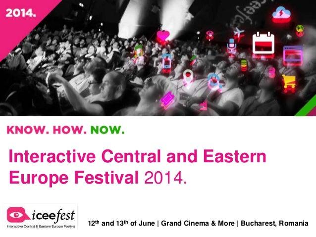 ICEEfest 2014 - Official Presentation