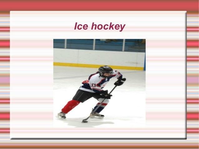 Ice hockey, adri y carmen