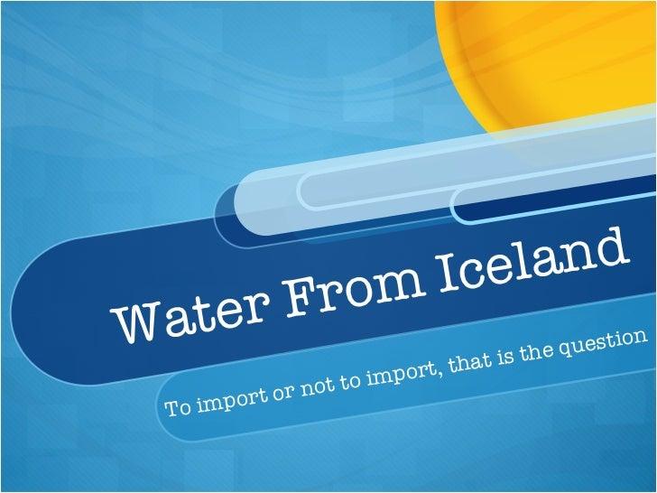 Iceland presentation final