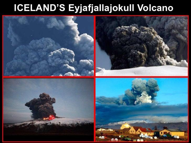 Iceland's Eyjafjallajokull Volcano - April 2010