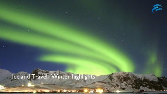 Iceland Travel- Winter highlights