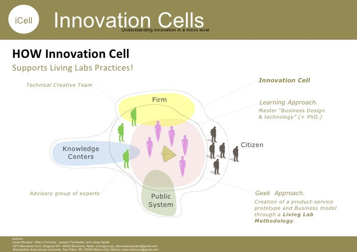 Innovation Cells Supporting Living Labs Practices: A Case Example.