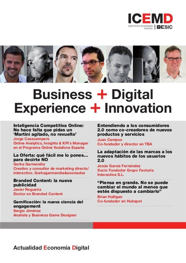 Actualidad Economía Digital ICEMD