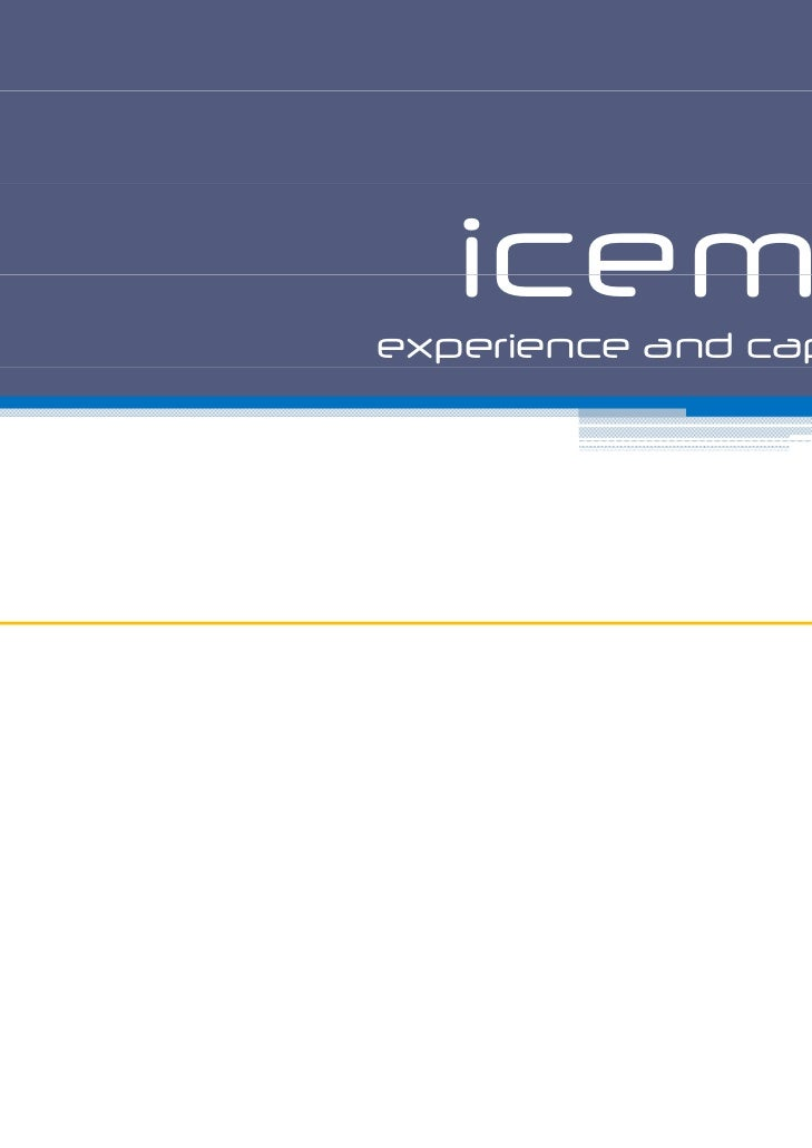 icemmexperience and capability