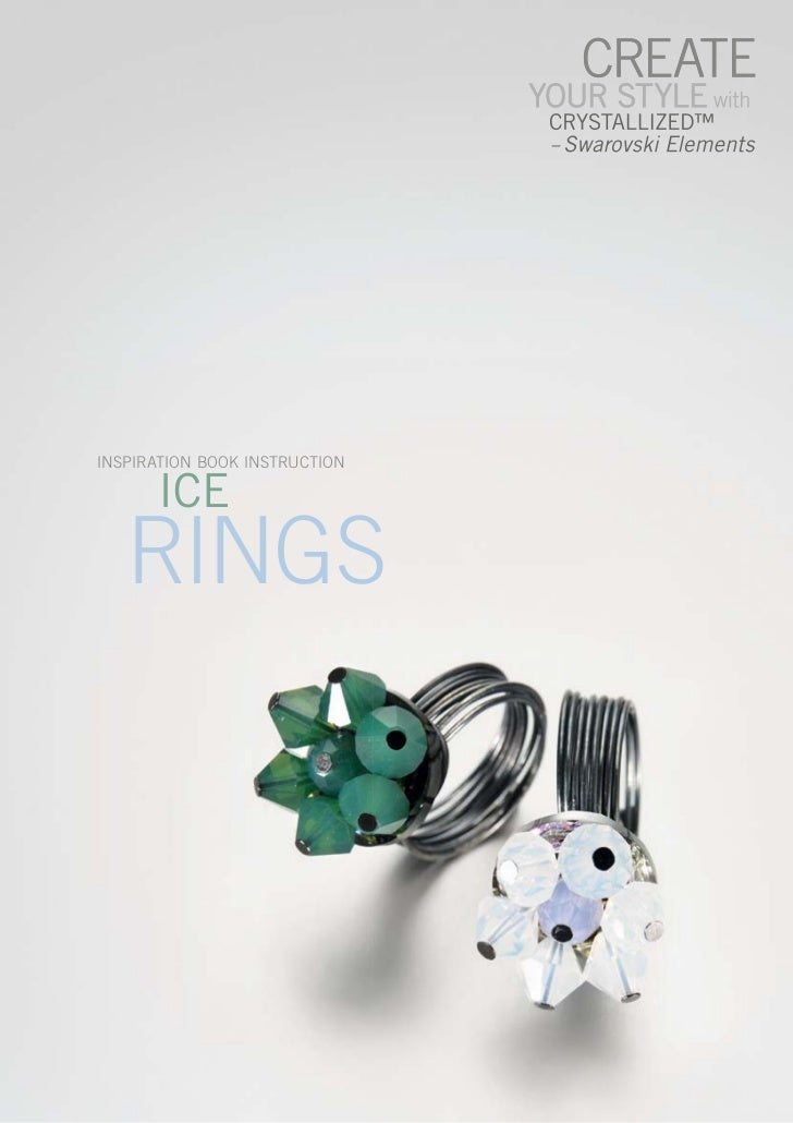 INsPIratIoN BooK INstructIoN      ICE   rINGs