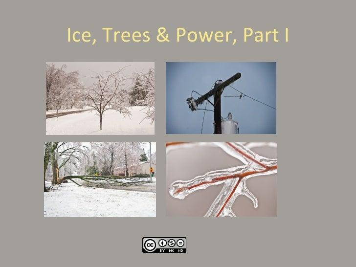 Ice, Trees & Power, Part 1