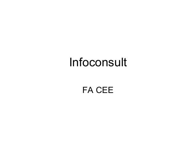 Infoconsult FA CEE