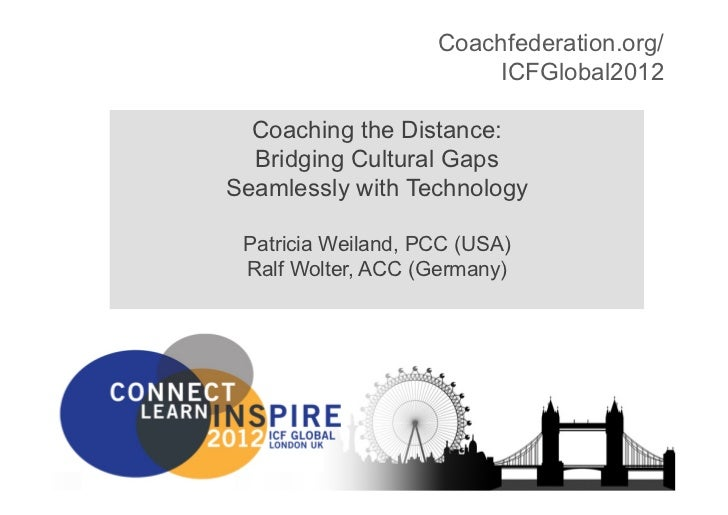 ICF Coaching the Distance: Patricia Weiland, Ralf Wolter