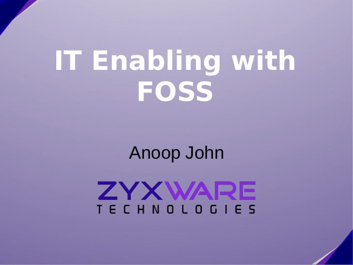 ICFOSS Interaction with Small and Medium Enterprises on IT Enabling SMEs with FOSS, Aug 17th