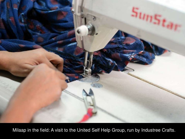 Milaap in the field: A visit to the United Self Help Group, run by Industree Crafts.