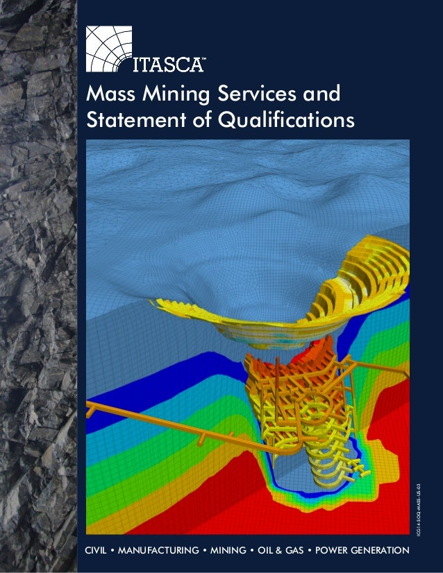 thesis a mining company