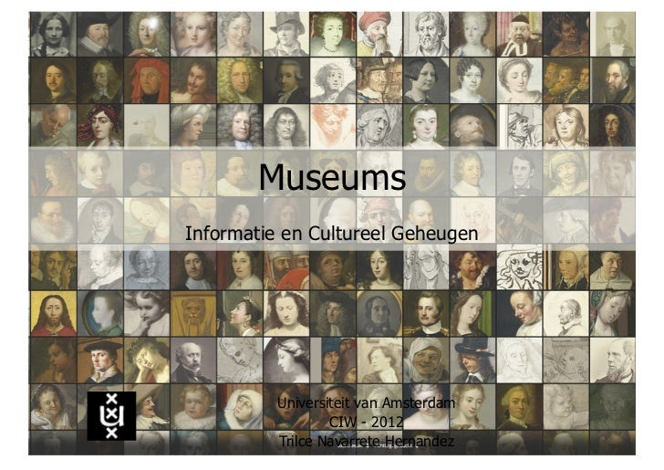 Memory institutions: museums
