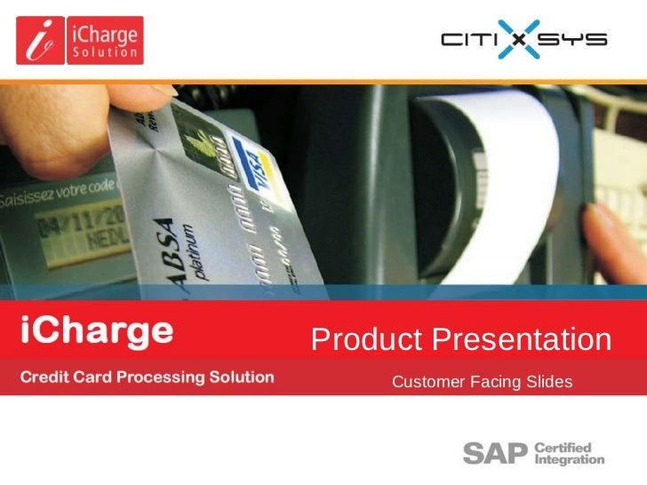 Product Presentation Customer Facing Slides