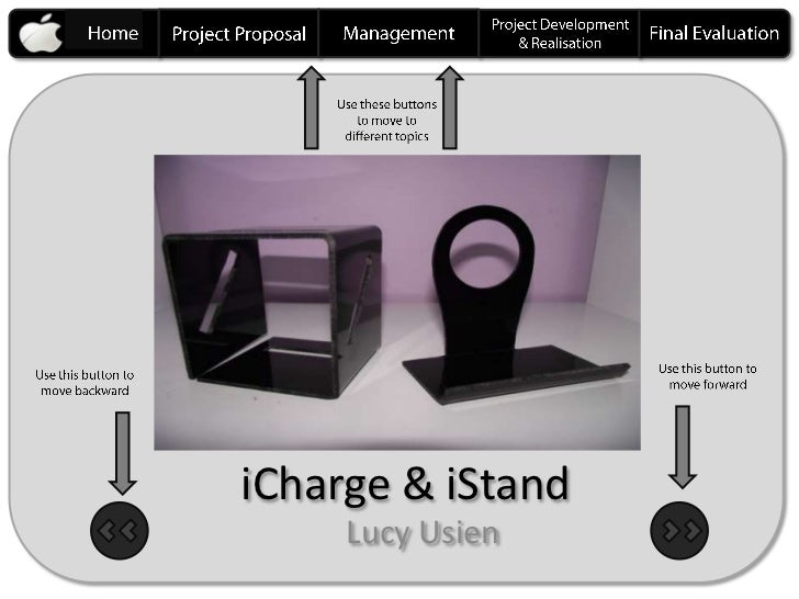 iCharge & iStand     Lucy Usien