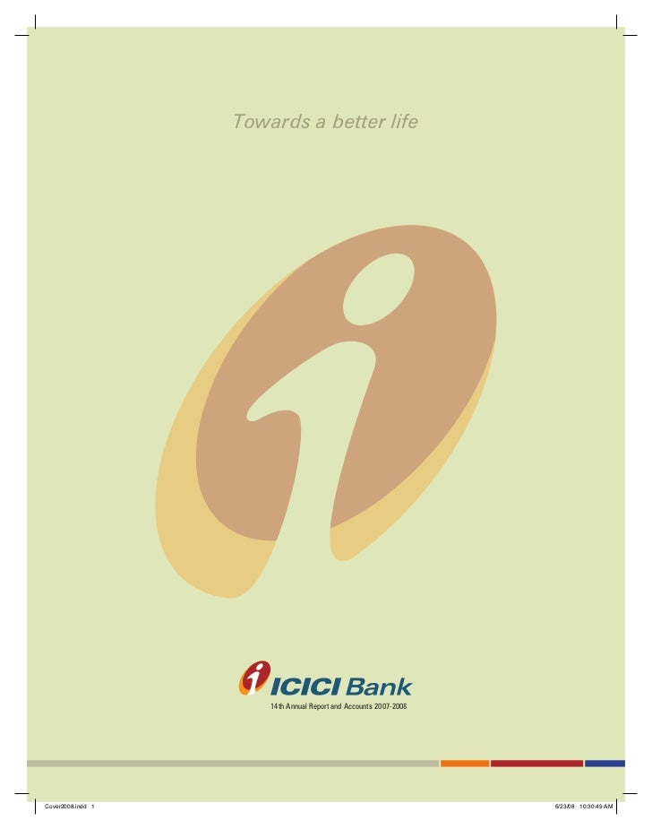 ICICI BANK ANNUAL REPORT OF 2008
