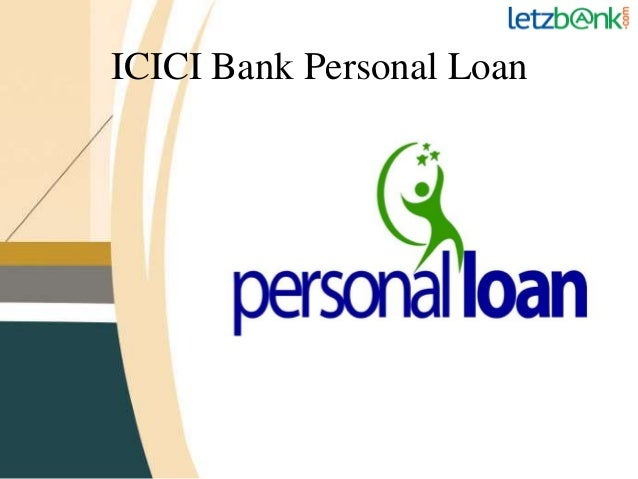 Icici bank personal loan