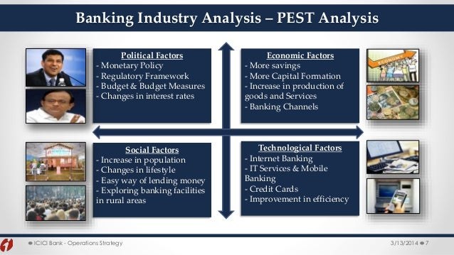 pest analysis for bank Brief breakdown of scotia bank's marketing situation the toronto-dominion bank swot analysis (2012, june, 1) toronto-dominion bank swot analysis, 1-8.