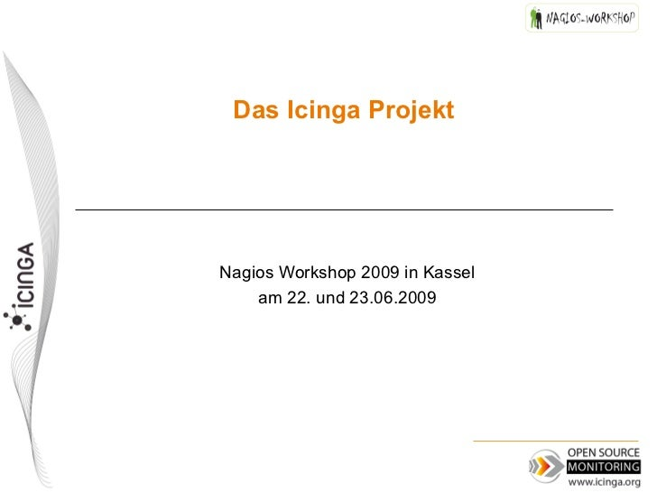 Icinga 2009 at Nagios Workshop