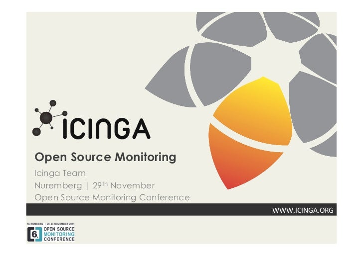 Icinga 2011 at OSMC