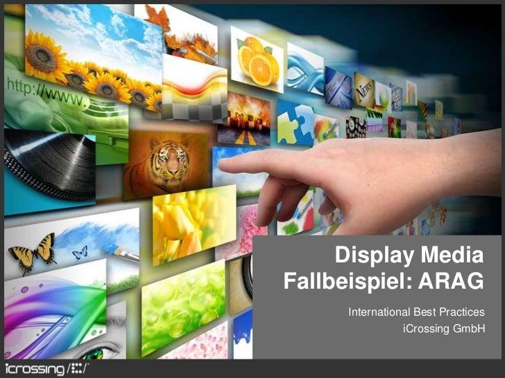 Display MediaFallbeispiel: ARAG     International Best Practices                iCrossing GmbH