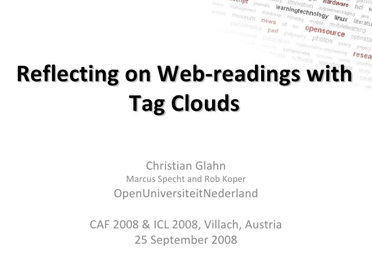 Reflecting on Web-readings with Tag Clouds