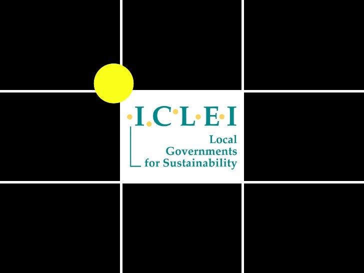 ICLEI Global and Regional Development