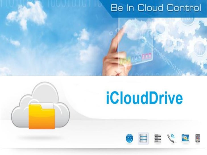 iCloudDrive Overview