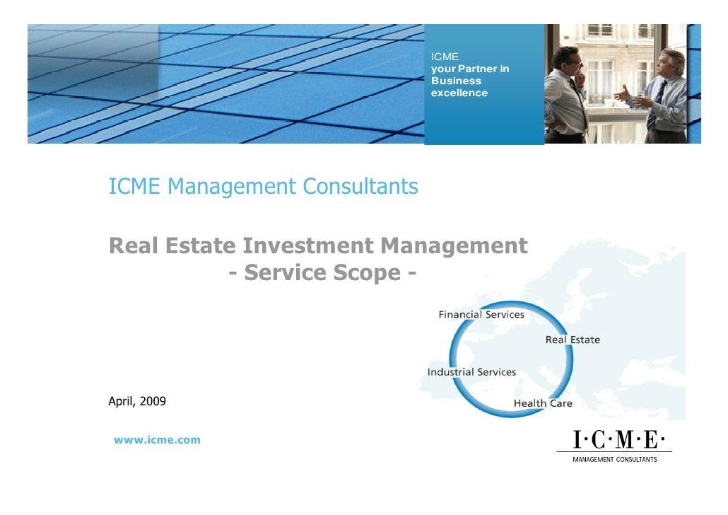 ICME Profile Apr09