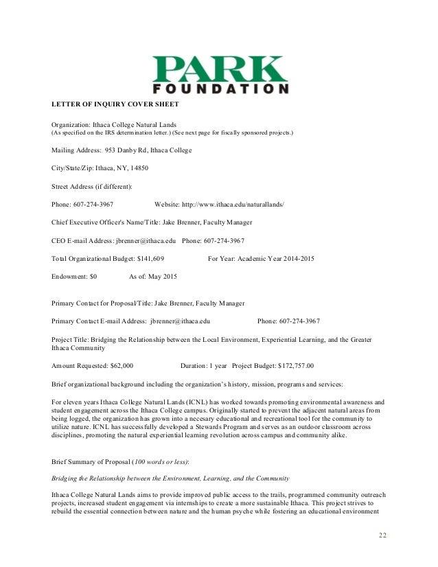 Sample grant letter templates