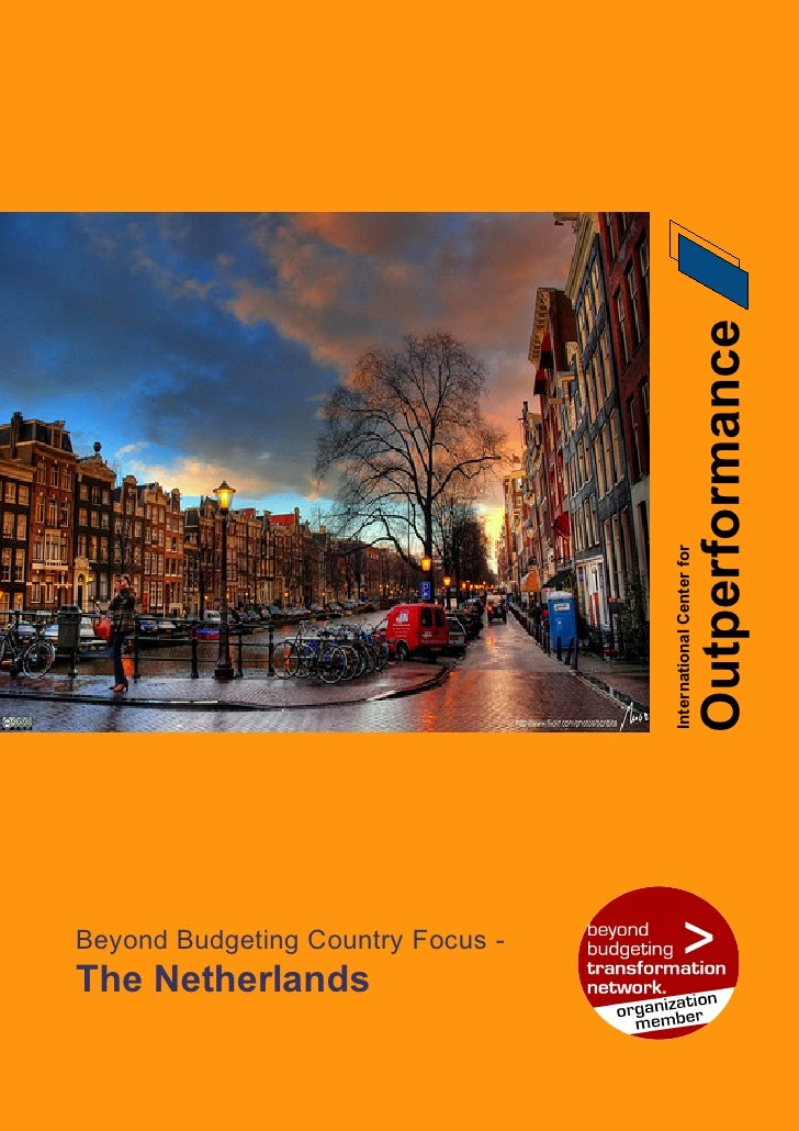 Outperformance                                    International Center for     Beyond Budgeting Country Focus - The Nether...