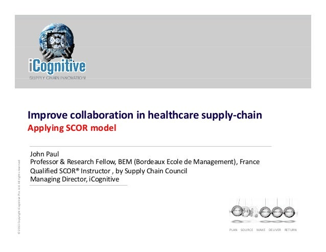 Improve Collaboration in Healthcare Supply‐Chain Applying SCOR model