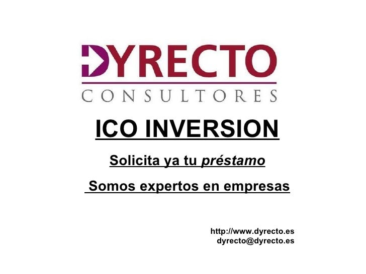 ICO INVERSION
