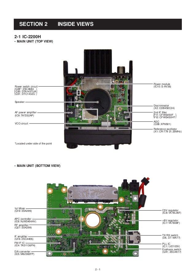 icom 2200 h service manual